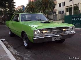 DODGE DART 75 COM GRADE FRONTAL E SINALEIRAS TRASEIRAS DO MODELO 1971