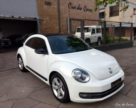 VW/FUSCA 2.0 TSI 211 CV, ÚNICA DONA, TETO SOLAR, APENAS 62 MIL KM