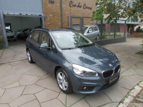 BMW 220i ACTIVE TOURER 2.0 TURBO, ÚNICA DONA, COM INTERIOR BEGE