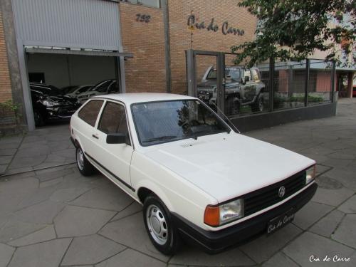 VW/RARIDADE GOL CL 1.6 ALCOOL, APENAS 4 MIL KM, TODO ORIGINAL, IMPECÁVEL